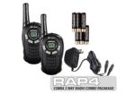 Cobra Two-Way Radio with Battery and Charger Combo Package