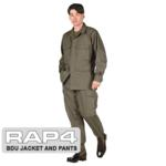 BDU Jacket and Pants Package (German Flecktarn)