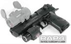 Desert Eagle Paintball Pistol and Quick Detachable Tactical Flas