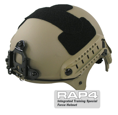 RAP4 Integrated Training Special Force Helmet (Desert)