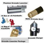 10 x M203 Thunder Grenade Package
