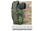 MOLLE SWAT Tactical Cross Draw Holster (Left - Small) German Fle