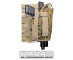 MOLLE Ranger Tactical Cross Draw Holster (Right - Big) Digital