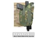 MOLLE Ranger Tactical Cross Draw Holster (Right - Big) German Fl