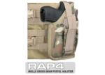 MOLLE SWAT Tactical Cross Draw Holster (Right - Small) Eight Col