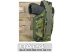 MOLLE SWAT Tactical Cross Draw Holster (Right - Small) CADPAT