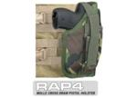 MOLLE SWAT Tactical Cross Draw Holster (Right - Small) DPM