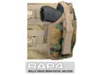 MOLLE SWAT Tactical Cross Draw Holster (Right - Small) Digital