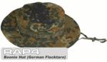 Military Boonie Hat (German Flecktarn) (Large)