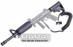 PCS US5 Paintball Gun M4 Carbine Buttstock - Remote Line - Barre