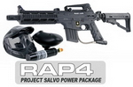 US Army Project Salvo Paintball Marker Basic Power Package