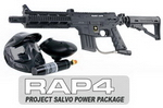 US Army Project Salvo Paintball Marker and Response Trigger Basi
