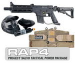US Army Project Salvo Paintball Marker and Response Trigger Tact