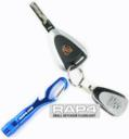 RAP4 Small LED Keychain Flashlight (Blue)