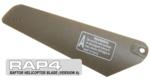 RAP4 Raptor R/C Helicopter Replacement Blade (Version A)
