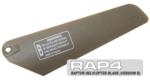 RAP4 Raptor R/C Helicopter Replacement Blade (Version B)
