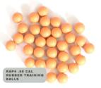 .68 Cal Rubber Training Balls (Bag of 500) Yellow