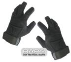 SOF Tactical Gloves (Open Finger - Black) Small