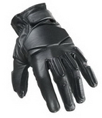 SWAT Tactical Leather Gloves (Regular - Black) Small