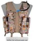 Strikeforce Paintball Vest (Australian Desert) - Regular Size