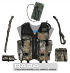 Strikeforce Paintball Vest Complete Package