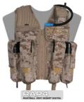 Strikeforce Paintball Vest (Desert Digital) - Regular Size