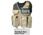 Strikeforce Paintball Vest (Desert Camo) - Regular Size