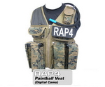 Strikeforce Paintball Vest (Digital Camo) - Regular Size