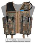 Strikeforce Digital Woodland Clearance Vest - Large Size