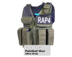 Strikeforce Paintball Vest (Olive Drab) - Regular Size