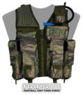 Strikeforce Paintball Vest (Tiger Stripe) - Regular Size