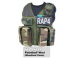 Strikeforce Paintball Vest (Woodland Camo) - Large size