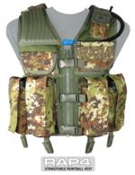 Strikeforce Paintball Vest (Italian Camo) - Large Size