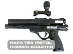 T68 Paintball Pistol Hopper Adapter