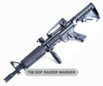 T68 SOF Paintball Gun Raider Package with Marker
