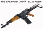 T68 SplitFire AK47 Dual Feed