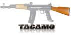 Tacamo AK47 Wooden Buttstock for BT Paintball Gun