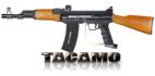 Tacamo AK47 Wooden Kit with Marker Package for BT Paintball Gun