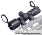 Tactical 3-9x40 Green Illumination Scope
