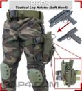 Tactical Leg Holster (Left Hand - Large) (ACU)