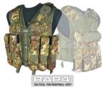 Tactical Ten Paintball Vest (Italian Camo) - Large Size