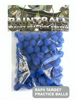 .43 Cal Target Balls - Blue (Bag of 100)