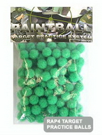 .43 Cal Target Balls - Green (Bag of 100)
