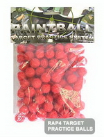.43 Cal Target Balls - Red (Bag of 100)