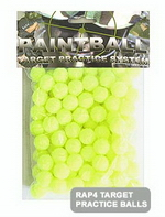 .43 Cal Target Balls - Yellow (Bag of 100)