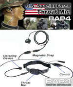 Throat Mic Sniper Package