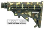 Camouflage Carbine Buttstock (Jungle Green) for Tippmann® 98