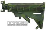 Camouflage Carbine Buttstock (Amazon Green) for Tippmann® A-