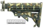Camouflage Carbine Buttstock (Jungle Green) for PCS US5