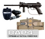 Tippmann® A-5® Paintball Marker and Response Trigger Tac